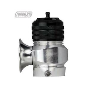 Turboxs Blow off Valve Type H rfl Aluminum Clear Anodized 35 Psi Universal Each