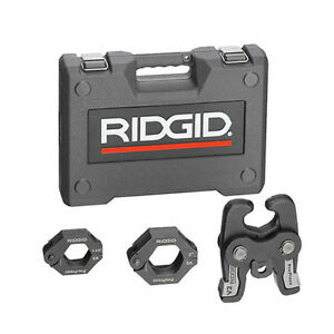 Ridgid 27428 V2 Propress Series Kit W 1 1 2 2 Rings