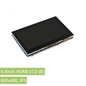 4 3inch Hdmi Lcd b 800x480 Ips Capacitive Touch Lcd Supports Various Systems