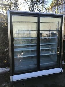 2 Doors Freezer Hussmann