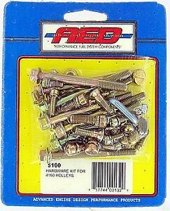 Aed Holley Carburetor Hardware Kit For 4160 Holley Carb 600 750 780