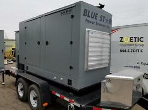 2017 Blue Star Power Systems Jd150 Portable Diesel Generator 150kw 187 kva New