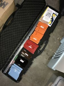Great Set Of Amcraft Duct Board Cutting Tools W Case Nice Free Shipping