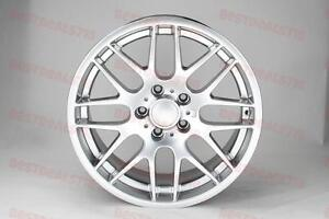 19 Hyper Silver Csl Style Rims Fits Bmw 5 Series Staggered E90 E92 F10 Stag