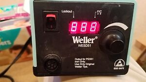 Weller Wesd51 60w Digital Power Unit Soldering Iron Station