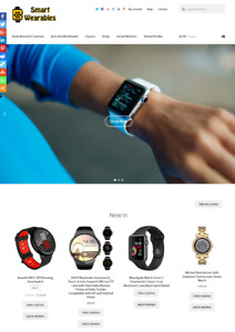 Smart Wearable Technology Website Business For Sale Fully Stocked