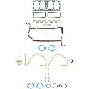 Ford 8n Tractor 4 Cylinder Engine Full Gasket Set Fel Pro Fs7277 B 260 1356
