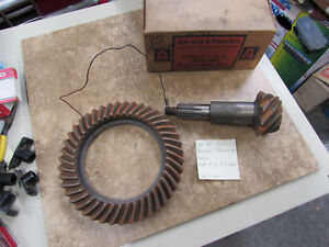 Nors 1939 47 Pontiac Torpedo Streamliner 4 3 Ratio Ring And Pinion Set 4852 3