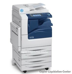 Xerox Workcentre 7225 Color Copier Printer Scan A 25 Ppm