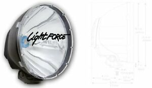 Xgt 10 Light Xenophot Bulb By Light Force 12v 100w Wide Beam