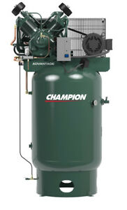 Champion Fully Packaged Series Air Compressor Model Vr10 12 10hp
