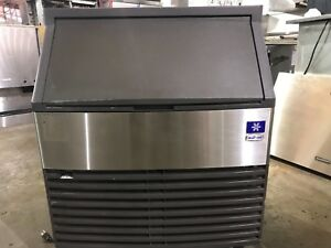 Manitowoc Qd0272a Cube Ice Machine With Bin