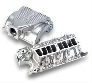 Holley Intake Manifold Efi Aluminum Shiny Multi port Ford Mustang 5 0l Kit