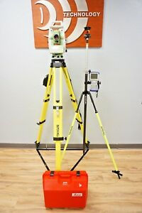Leica Ts12 P R400 Reflectorless Long Range Bt Robotic Total Station 2 Sec 1203