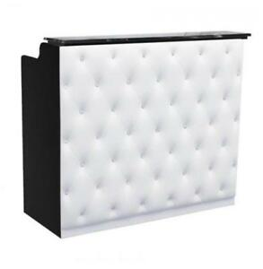Crystal Reception Desk 48 Black white Free Shipping