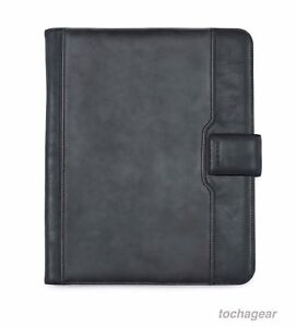 New Samsonite Executive Leather Padfolio Notebook Business Meeting Writing Pad