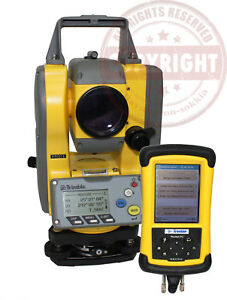 Trimble Ts215 Total Station Recon Data Collector Lm80 Layout Topcon Leica