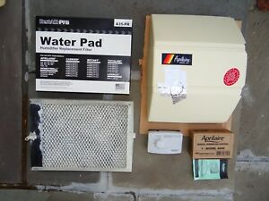 Aprilaire 560 Cover sides Humidistat And 2 A35 Water Exchange Panels