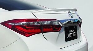 Rear Trunk Lip Spoiler Wing For 2014 2016 Toyota Corolla Altis Color Painted