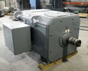 500 Hp Dc General Electric Motor 650 Rpm 4562 Frame Dpfv 500 V