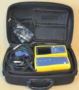 Fluke Networks Dtx 1800 Sm Sfm2 Mm Mfm2 Fiber Tester Dtx 1800 Cable Analyzer