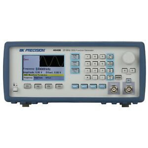 Bk Precision 4040b 20 Mhz Dds Sweep Function Generator W Bright Lcd Display