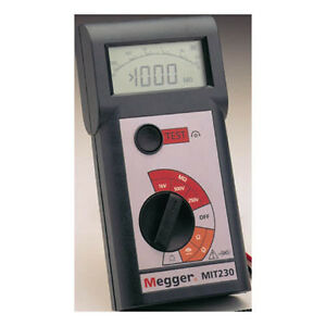 Megger Mit230 Insulation And Continuity Tester