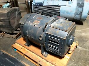 300 Hp Dc General Electric Motor 1750 Rpm 506at Frame Dpfv 550 V