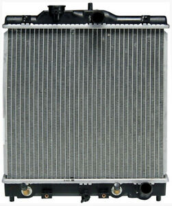 Radiator 1992 2000 For Honda Civic Civic Del Sol 4cyl 1 5l 1 6l Great Quality
