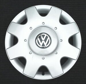 One Genuine Volkswagen Vw New Beetle Gl Gls Tdi 16 Hubcap Wheel Cover 1998 2001