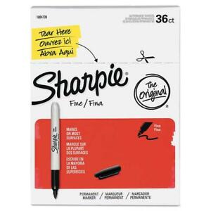 Sharpie Permanent Marker Fine Point 36 count