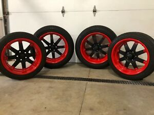 Bonspeed Wheels Michelin Kumho Tires Hot Rod Rat Rod
