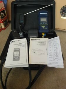 Bacharach Fyrite Pro Combustion Gas Analyzer Model 125 New nos With Printer