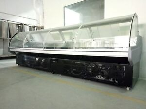 Deli Case 8ft With Storge Twin Power