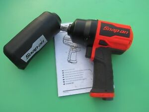 Snap On Pt850o 1 2 Drive Impact Air Wrench Gun boot Pt850 Ships Free Used