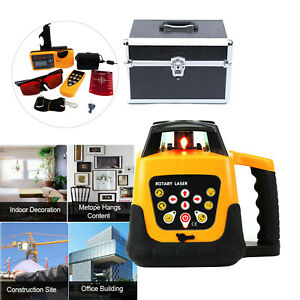 500m Range Automatic Laser Level Rotary Rotating Self Leveling Red Beam