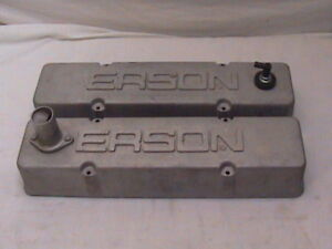 Erson Small Block Chevy Valve Covers Aluminum Sbc