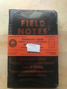 Field Notes Pretty Much Everything Edition Limited 5 000 Hand Numbered