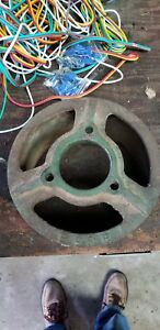 Old John Deere Hit Miss Gas Engine 8 Pulley E98r