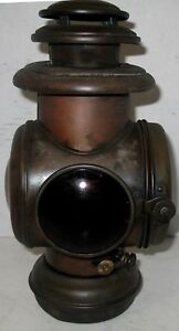 Buick 1907 11 Brass Corcoran Tail Lamp Model T Ford