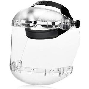 Sellstrom S38410 Maxlight Series Face Shield Clear Translucent Plastic Guard