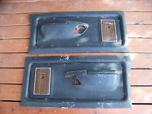 1972 Dodge Truck Adventurer Sport Door Panels Oem Power Wagon 73 74