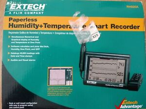 Extech Rh520a Large Lcd Humidity Temperature Paperless Chart Recorder