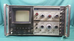 Hewlett Packard Hp 8553b Rf 8552b If Spectrum Analyzer 141t Display Section