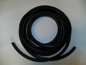94 Feet In 5 Pieces 1 4 Id 3 8 Od 1 16 Wall Latex Tubing Surgical Rubber Black