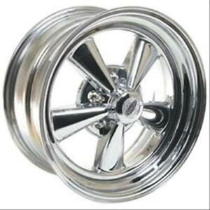 Cragar 61c Series S S Super Sport Chrome Wheel 15 X8 5x4 75 Bc Set Of 2