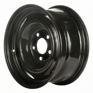 15 X 7 4 Slot Refurbished Oem Chevrolet Steel Wheel Black 01616