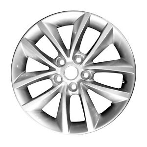 17 X 7 10 Spoke Refurbished Oem Kia Alloy Wheel All Painted Silver 74735