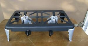Ohio Stove Co Cast Iron L P Nat Gas 2 Burner Cook Stove Freestanding 20 X10 X6