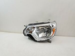 2012 2013 2014 2015 Toyota Tacoma Lh Drivers Side Halogen Headlight Aftermarket